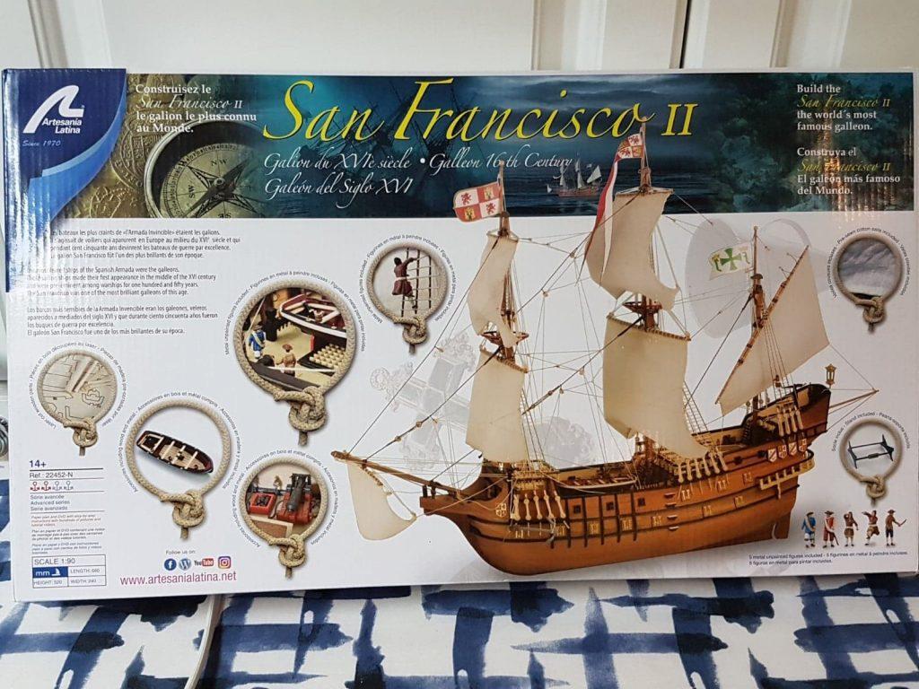 San Francisco - Artesania Latina - William Lafferty